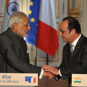 Counter-terror, climate change to be on Modi-Hollande talks table