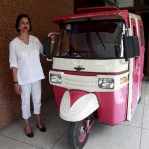 Meet Pakistan's first female auto driver