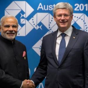 Modi's visit to Canada is the first by an Indian PM in 42 years!