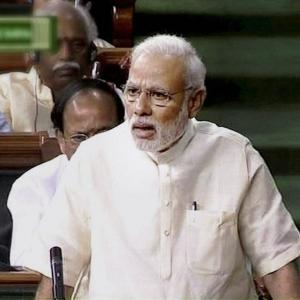 'India first' is only religion, Constitution only holy book, PM Modi says in Parl