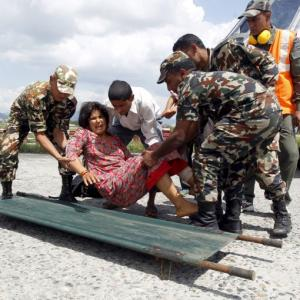 Indian Army brings glimmer of hope to quake survivors