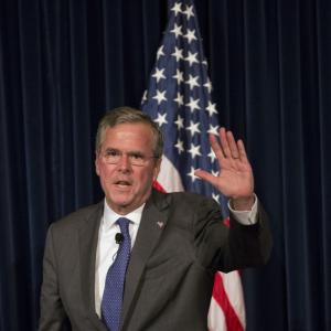 Jeb Bush blames Hillary Clinton, Obama for rise of IS