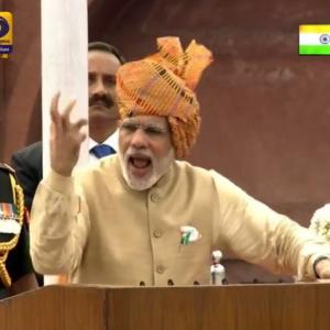 10 key things PM Modi said at Red Fort