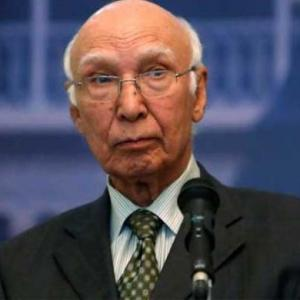 Pakistan's credentials better than India to join NSG: Sartaz Aziz
