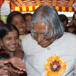 'President Kalam was a very courageous person'