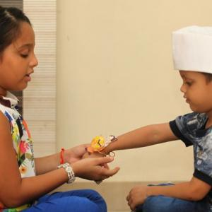 How India is celebrating Raksha Bandhan