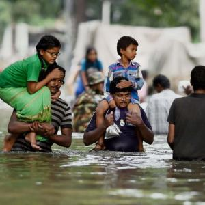 Bright skies, but Chennai struggles to stay afloat