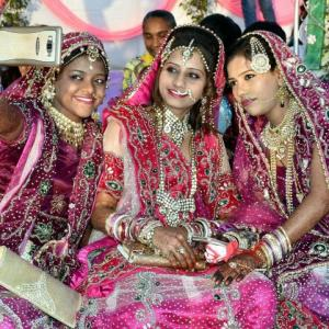 Gujarat diamond trader splurges Rs 5 crore for 151 weddings