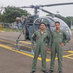 How two IAF pilots saved the day