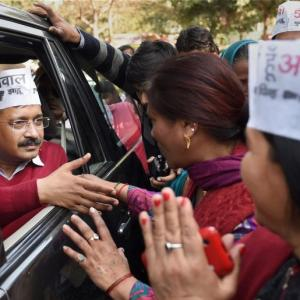 'BJP like Duryodhana, but AAP has Krishna on its side'