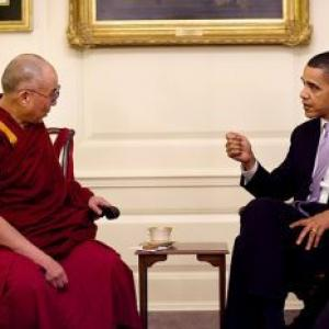 China denounces interference after Obama welcomes Dalai