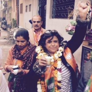 Her sister says Kiran Bedi is 'too clean for politics'