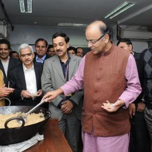 Like eating halwa: FinMin locks up for Budget 2015