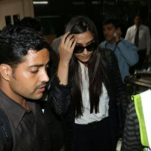 Sonam Kapoor catches swine flu, is hospitalised in Rajkot