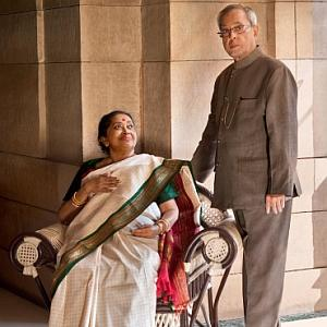 PHOTOS: Inside President Pranab's home