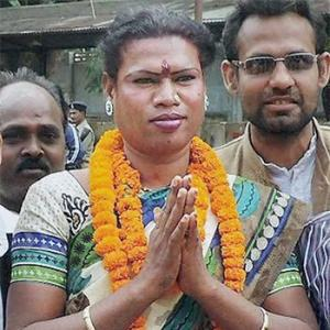 For India's first transgender mayor, it's all about 'vikas'