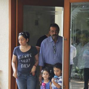 Sanjay Dutt surrenders after furlough ends, but is asked to go home
