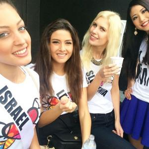 The selfie @ Miss Universe pageant that sparked diplomatic row