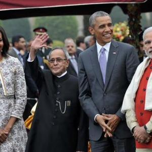 For Obama, it was another day of bromance with Modi