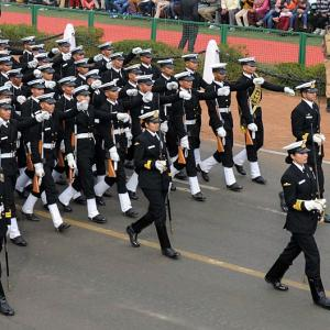 When Lt Commander Sandhya Chauhan marched into Naval history