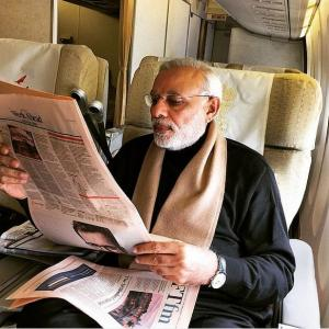 Is frequent flyer Modi overdoing it?