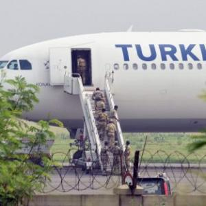 Grounded Turkish Airlines plane leaves for Istanbul from Delhi
