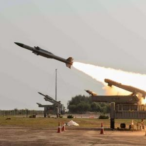 India inducts home-made Akash missile system