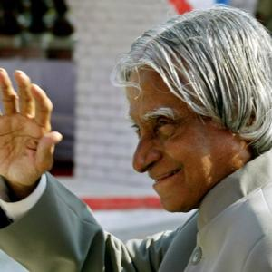 Were you fortunate to meet President Kalam?