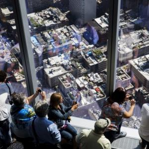 View from 1,250 feet: One World Observatory opens