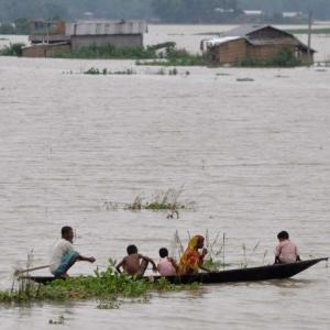 Flood fury in Assam: Over 3 lakh people affected