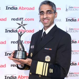 US Surgeon General Vivek H Murthy, India Abroad Person of the Year 2014