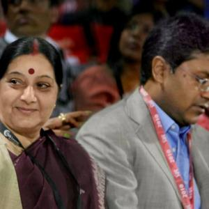 Lalit Modi row: What benefit did I give Modi, asks Sushma in her defence