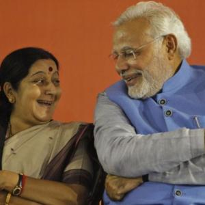 How Sushma became one of BJP's most popular leaders