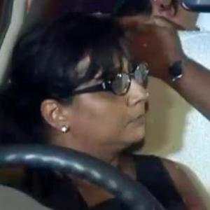 Caught drink-driving Mumbai woman locks herself inside car