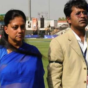 Raje was Lalit Modi's business partner, says Congress