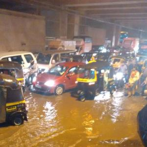 Mumbai slows down as rains lash city