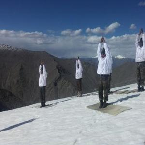 From Siachen to South China Sea: Some really inspiring yoga