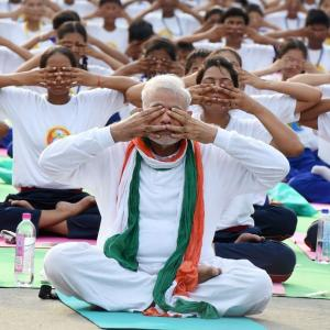 How the BJP did the shoot-yourself-in-the-foot asana on yoga day