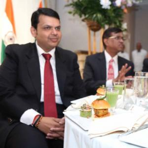 When Maharashtra CM ate vada pav in New York!