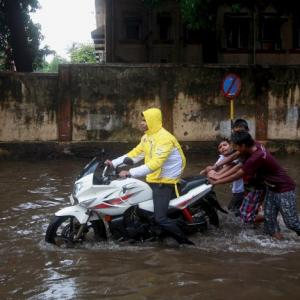 PHOTOS: Mumbai received 10 days worth of rain in 24 hours; 2 killed