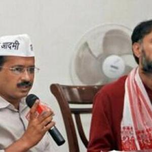 When Yogendra complained bitterly to Kejriwal