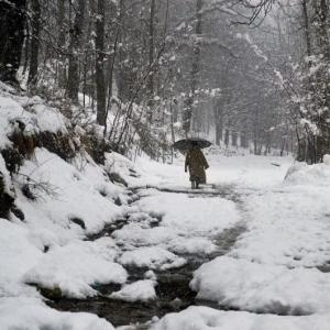 Valley of snow: Kashmir witnesses heavy snowfall, roads blocked