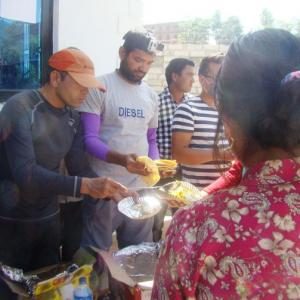 Inside Nepal: Escaping the avalanche to feed puri-bhaji to survivors