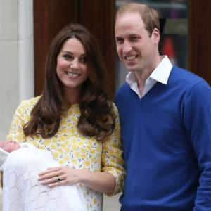 2 days old, the Princess of Cambridge is already worth £80 million