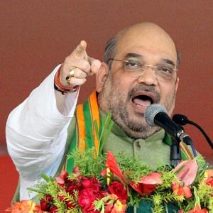 Amit Shah exclusive: 'Not an inch of acquired land will go to industrialists'