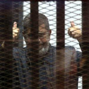 Former Egypt president Morsi sentenced to death