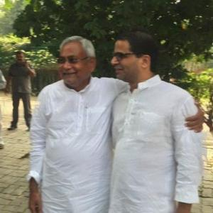 After building brand Modi, Prashant Kishor leads Nitish to victory