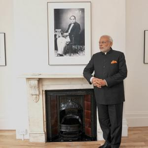 Modi inaugurates Ambedkar memorial in London