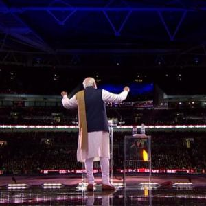 'Diversity is our pride,' Modi tells British Indians at Wembley