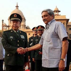 What will Parrikar achieve in China?